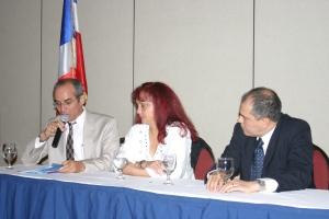 Con Guillermo Cote y Bismar Galán,