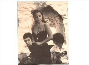 Tablao flamenco Los Canasteros (1982) con Juan Carmona (Ketama) y Diego Losada