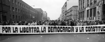 """""""Por la libertad, la Democracia y la Constitución"""""""