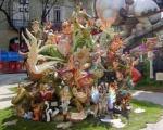 La ofrenda de flores a la Vírgen