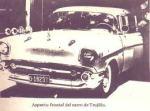 El coche en donde Trujillo fue acribillado