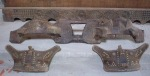 Las fronteras y el yugo que unía a la pareja de bueyes, atados mediante unos cordeles