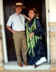 Rocío Jurado, antes de su fallecimiento, junto a su marido, el torero Ortega Cano