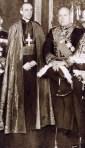 Pío XII junto a Mussolini