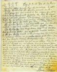 Carta de Blanca Brisac a su hijo
