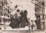 La Gran Vía de Madrid, bombardeada
