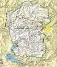 Mapa del Parque Nacional de Mesa Verde