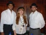 Víctor Fleten, Albita Santana y Freddy de la Rosa