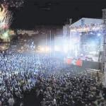 Fiestón de Año Nuevo en el Malecón de Santo Domingo
