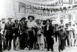 Frida con Diego y Los Cachuchas