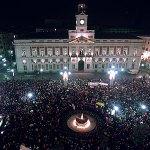 Puerta del Sol la noche del 31 de diciembre