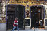 Bar-restaurante situado en la Calle de la Cruz, en el centro