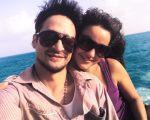 Rodrigo con mi hija Haydée