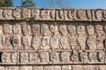 En Itchén Itzá (México), las Plataformas Mayas de las Calaveras, de las Águilas y de los Jaguares