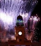 Fiestas de fin de año en la Puerta del Sol de Madrid