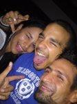 Rodri con Giselle y mi hijo Nicolás