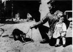 Con su hija Eglé