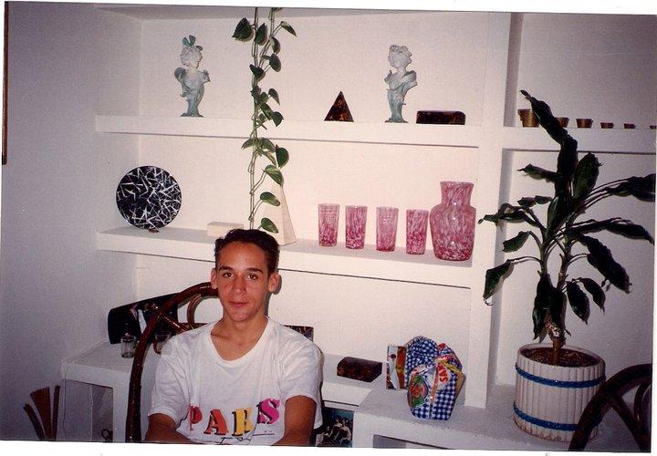 Mi hijo Jaime Mª en nuestra casa de Ronda de Segovia, Madrid, (1979)